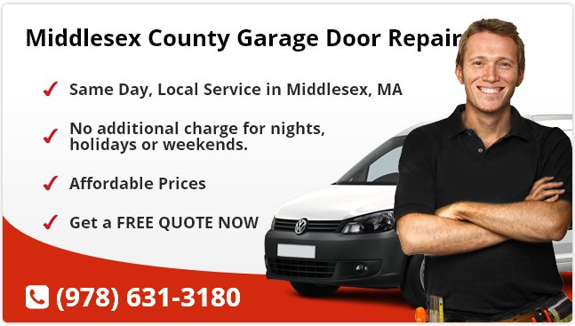 Middlesex Garage Door Repair